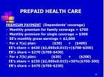 prepaid health care7