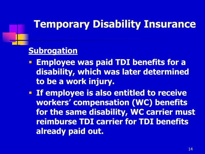 Temporary Disability Insurance
