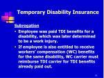 temporary disability insurance10