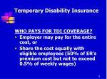 temporary disability insurance5