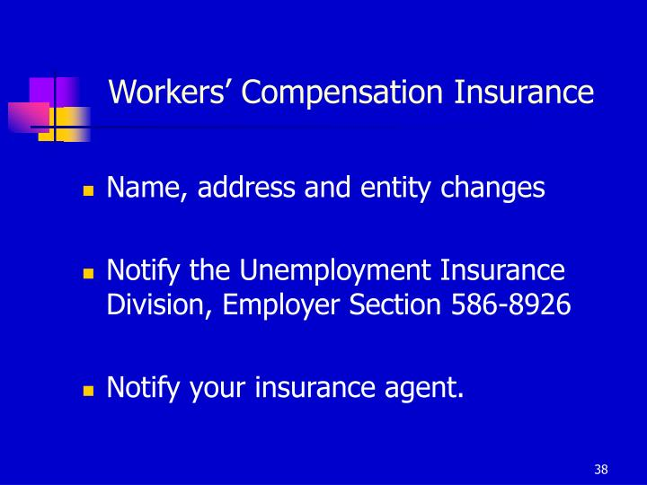 Workers' Compensation Insurance