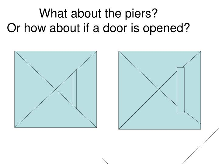 What about the piers?