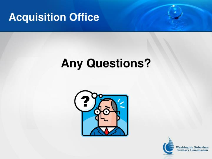 Acquisition Office