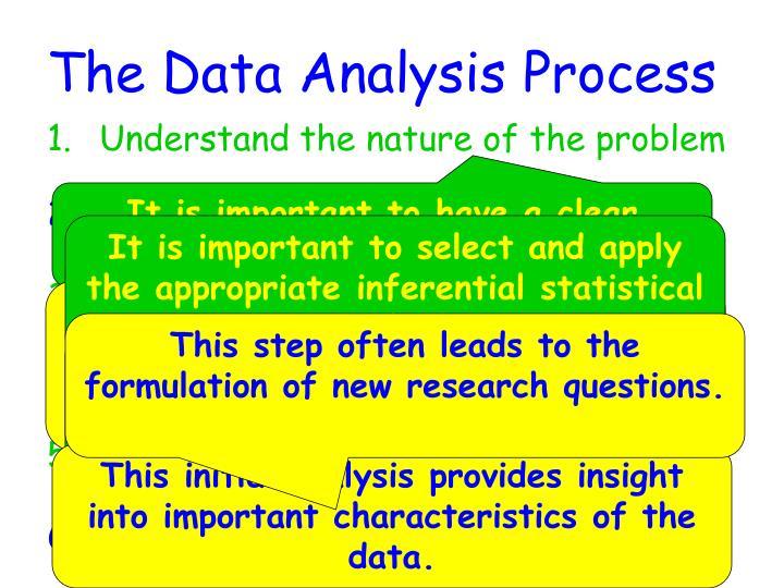 The Data Analysis Process