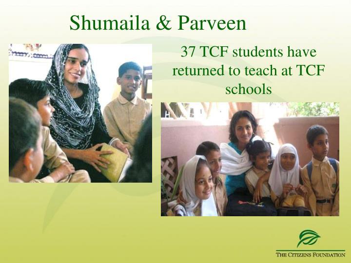 Shumaila & Parveen