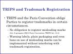 trips and trademark registration