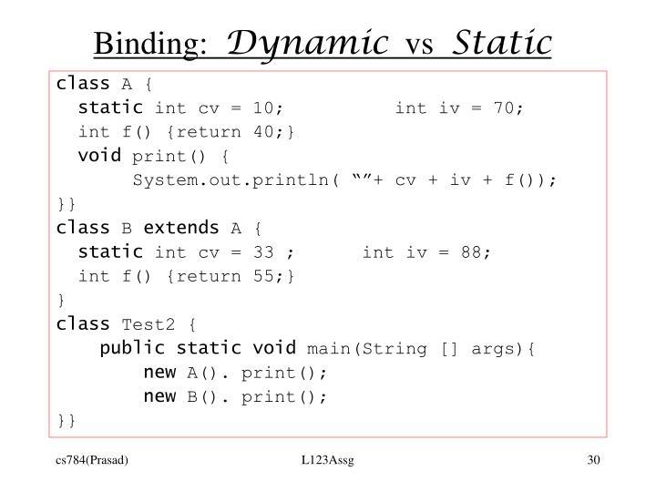 Binding: