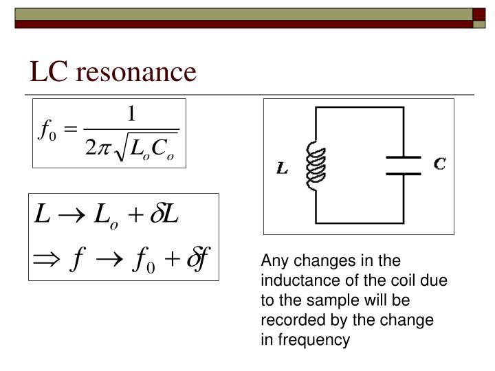 LC resonance