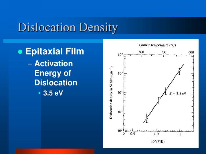 Dislocation Density