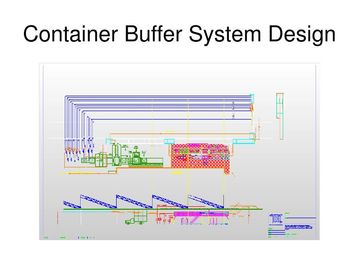 Container Buffer System Design
