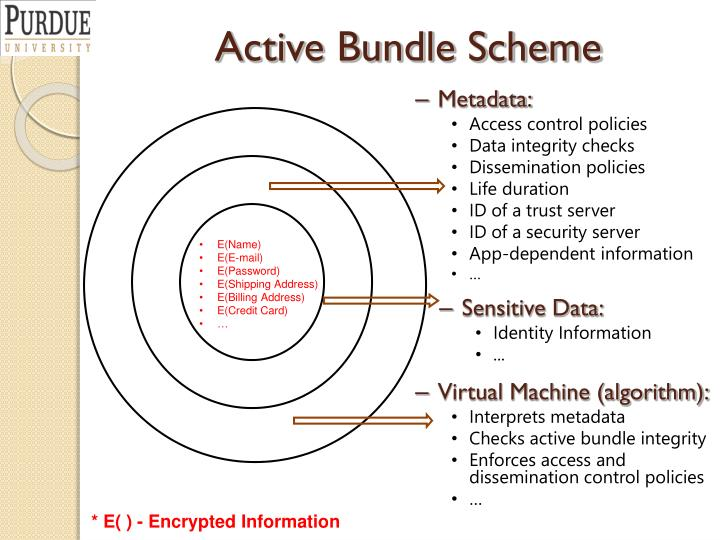 Active Bundle Scheme