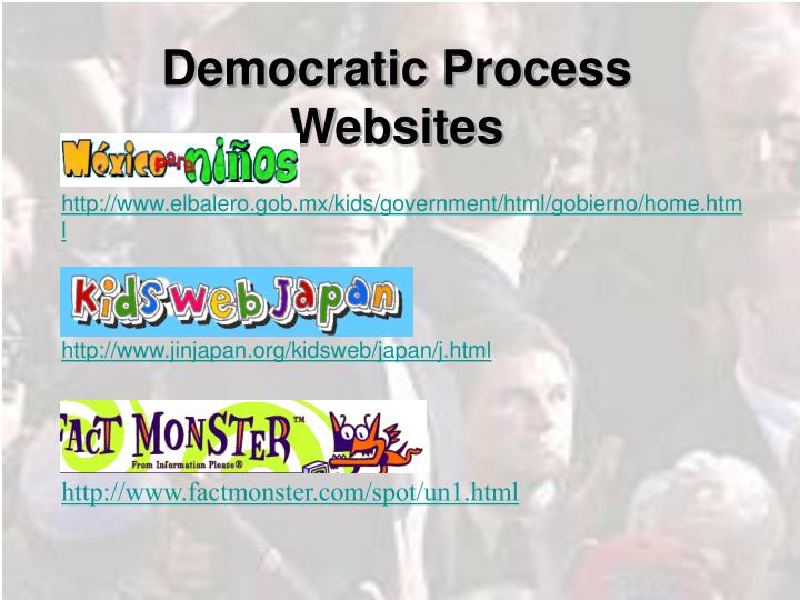 Democratic Process Websites