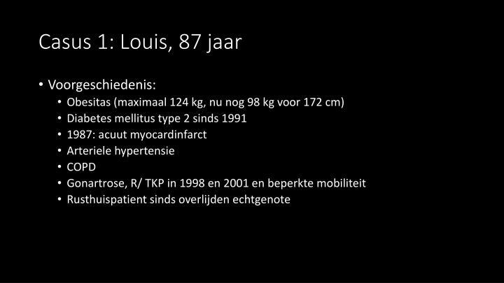 Casus 1: Louis, 87 jaar