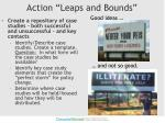 action leaps and bounds1