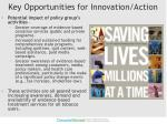key opportunities for innovation action1
