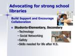 advocating for strong school libraries1