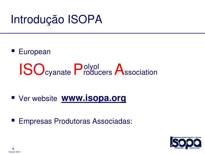 Introdução ISOPA