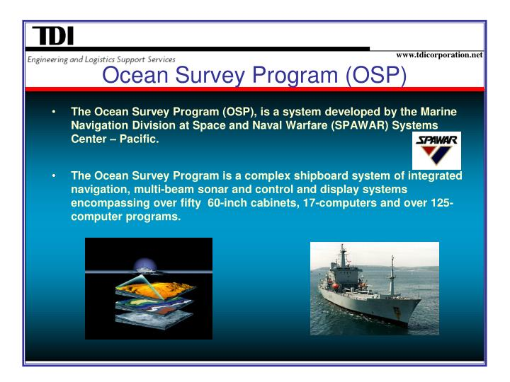 Ocean Survey Program (OSP)