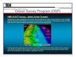 ocean survey program osp1