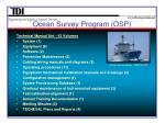ocean survey program osp4