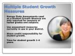 multiple student growth measures