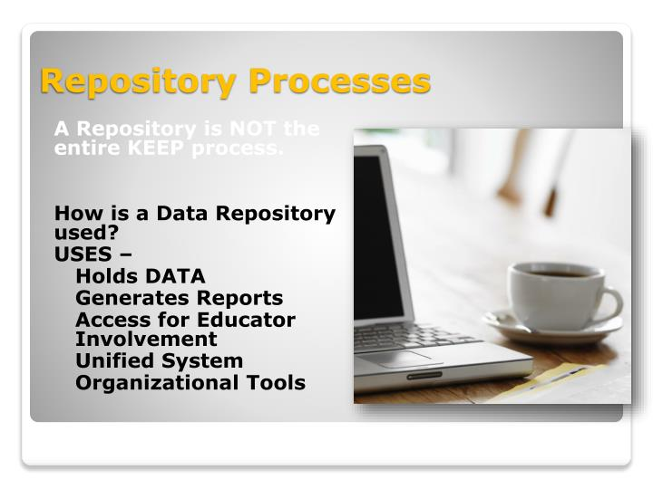 A Repository is NOT