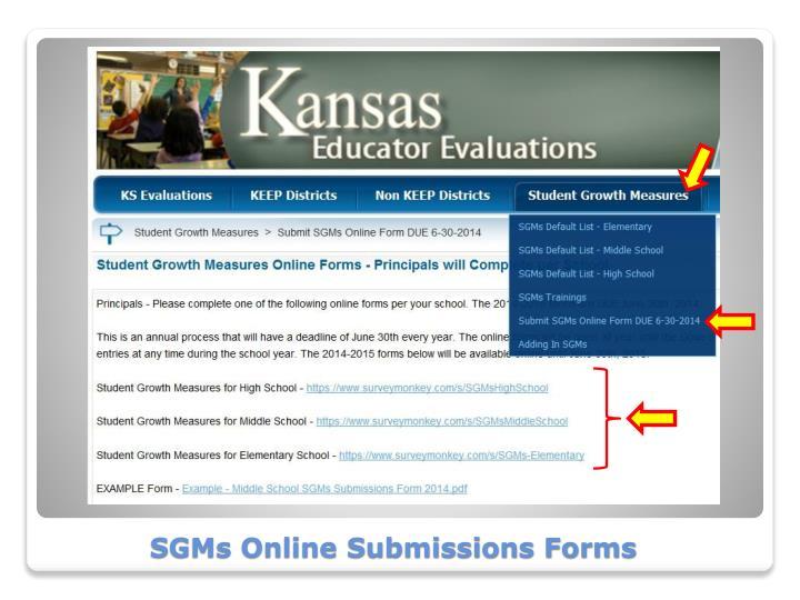 SGMs Online