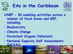eas in the caribbean