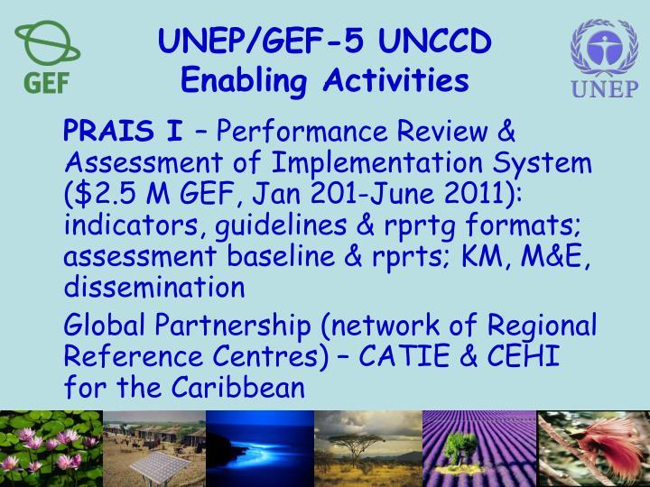 UNEP/GEF-5 UNCCD