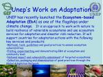 unep s work on adaptation1
