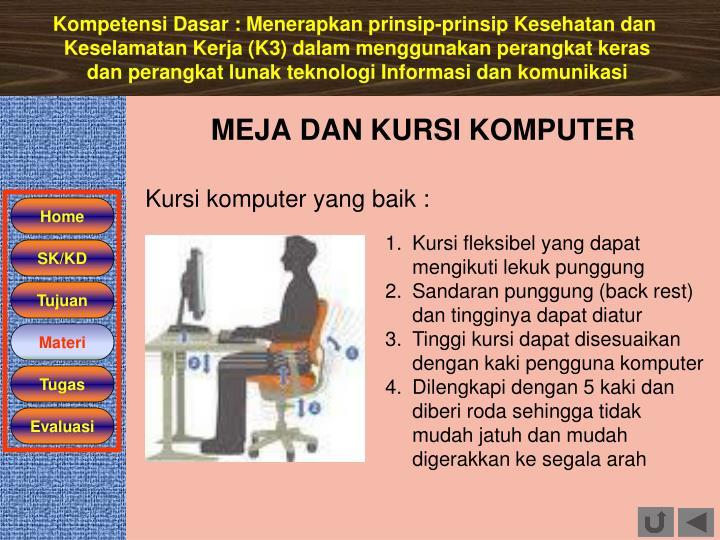 Kompetensi Dasar :