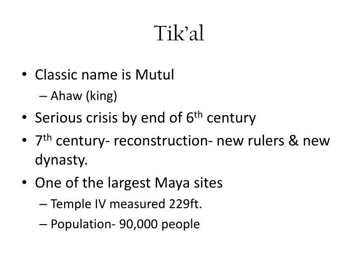Tik'al