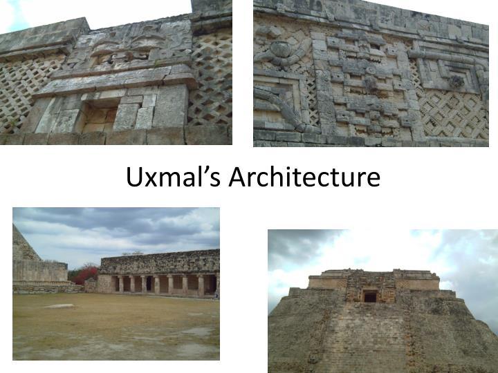 Uxmal's Architecture