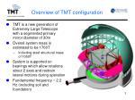 overview of tmt configuration