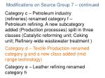 modifications on source group 7 continued2