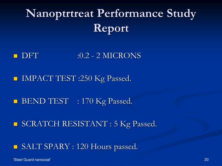 Nanoptrtreat