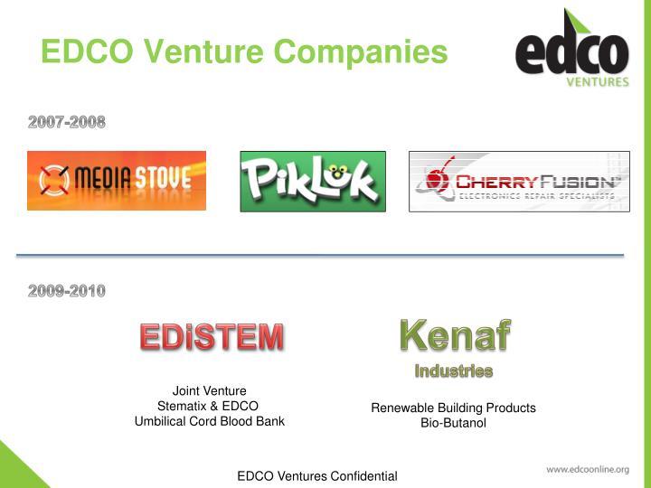 EDCO Venture Companies