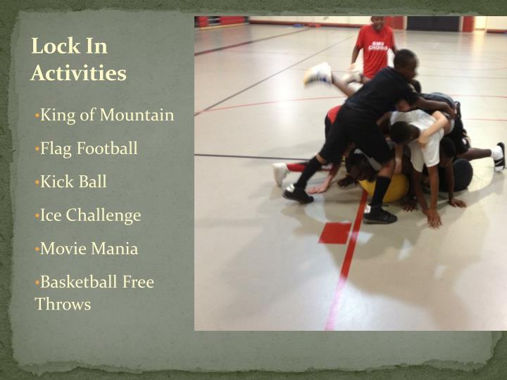 Lock In Activities