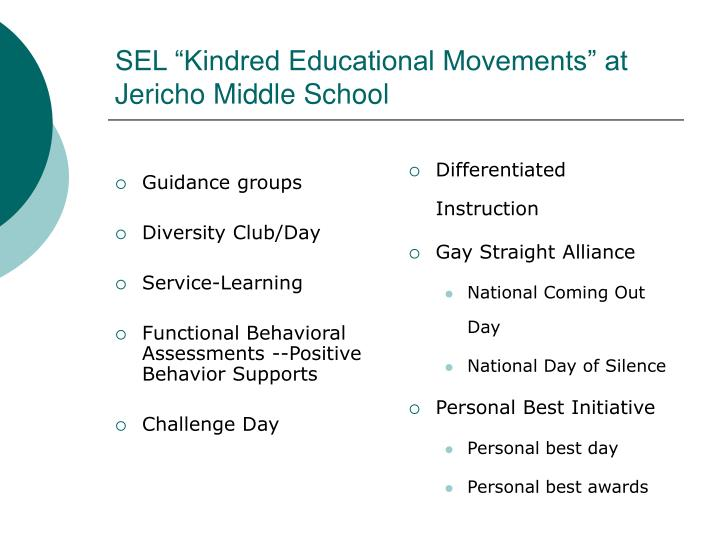 Guidance groups