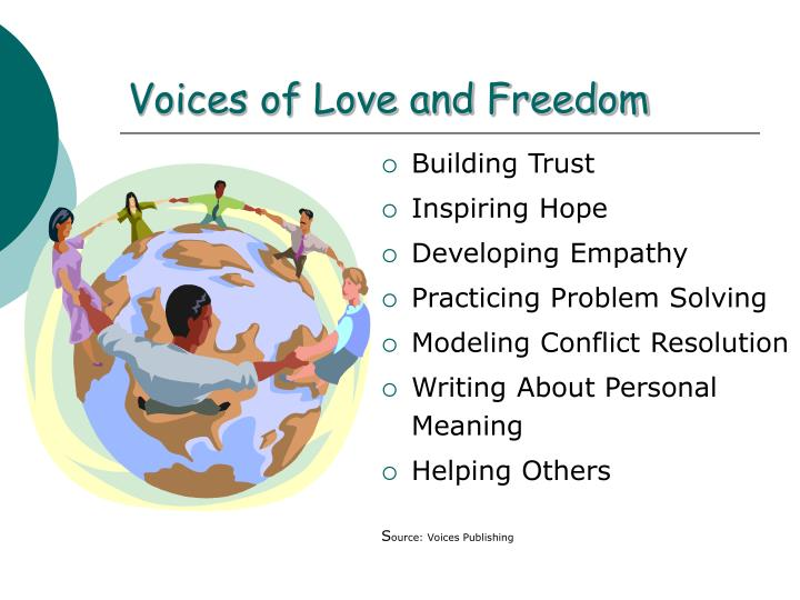 Voices of Love and Freedom