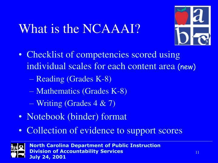 What is the NCAAAI?