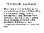 vote transfer continued2