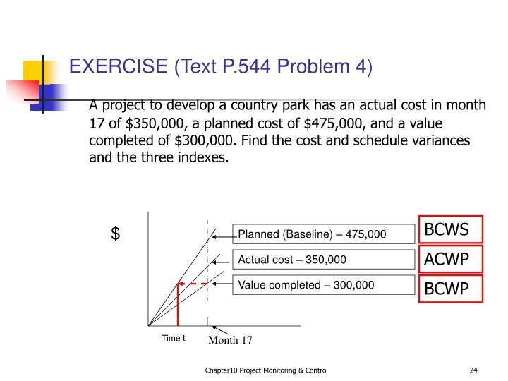 EXERCISE (Text P.544 Problem 4)