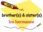 brother s sister s