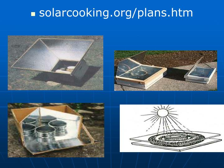 solarcooking.org/plans.htm