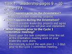 task f leadership pages 9 10 of the tpa