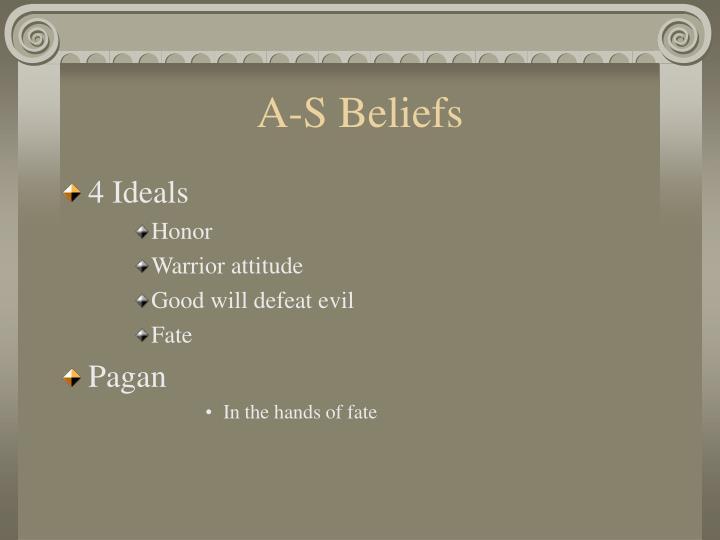 A-S Beliefs