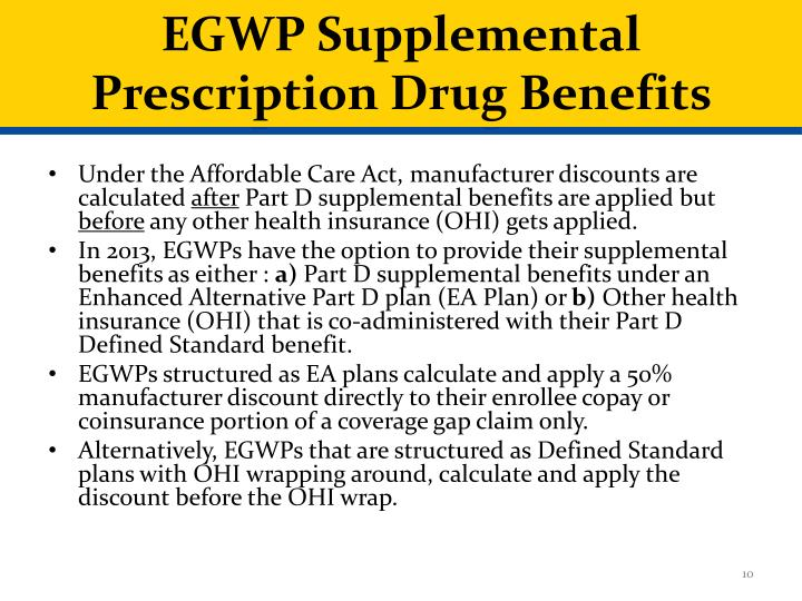 EGWP Supplemental