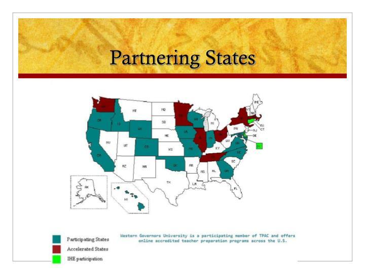 Partnering States