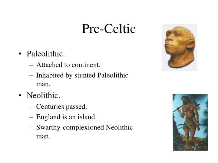 Pre-Celtic
